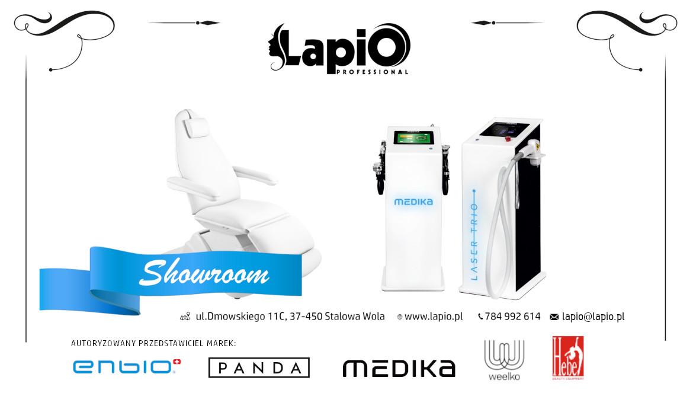 Showroom Lapio Hurtownia kosmetyczna